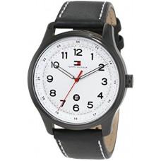 تومي هيلفيجر ساعة أندري رجالي , أسود
