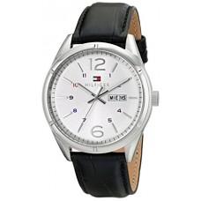 9cb91e9b0 تومي هيلفيجر ساعة تشارلي رجالي أسود