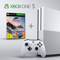 Microsoft Xbox One S, 500 GB, White + Forza Horizon 3 (gift)