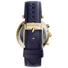Michael Kors Navy and Gold-Tone Glitz Parker women's Watch