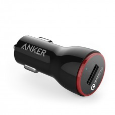 Anker Car Charger 24W PowerDrive+1 , black