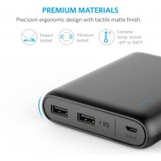 Anker portable charger powercore 13000mAh, Black