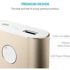 ANKER Portable Charger Power bank+ 10050 mAh, gold
