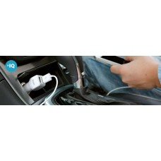 Anker Car Charger PowerIQ Dual USB, White