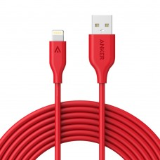 Anker cable USB to Lightning 300cm, red