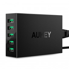AUKEY Desktop Charger 50W / 10A 5-Port , black