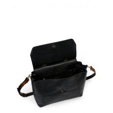 حقيبة يد نسائية تاهاري جلدية لون أسود