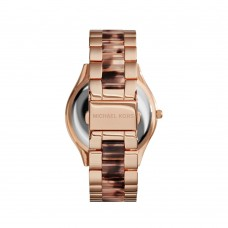 Michael Kors Rose Gold-Tone Slim Runway women's Watch