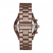 مايكل كورس اكسس سليم رانواي ساعة ذكية نسائية هجينة , لون السمور