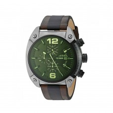 Diesel Overflow Black Dial Chronograph Men's Watch