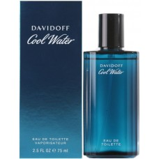 Cool water by Davidoff for men 75 ml eau de toilette