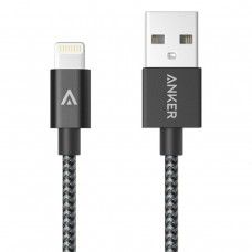 Anker Nylon Braided USB to Lightning cable 90cm, BLACK