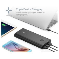 Anker Portable Charger PowerCore 26800 mAh , Black