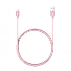 Anker Nylon-Braided USB to Lightning Cable 180cm, Rose Gold