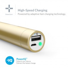 ِAnker Portable charger Powercore mini  3350mAh, gold