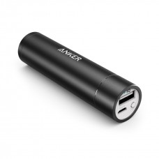 anker  Portable charger Powerbank mini  3350mAh, black