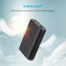 Anker portable charger powercore 10000mAh, BLACK