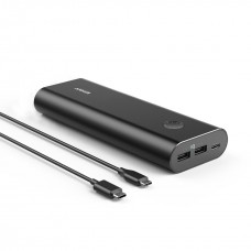 Anker Portable Charger PowerCore+ 20100 mAh, Black