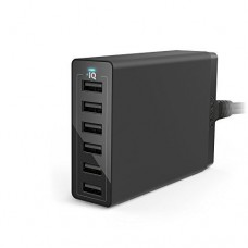Anker Desktop Charger PowerPort  60W 6-Port, Black