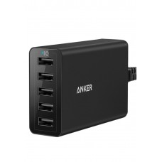 Anker Desktop Charger 40W 5 Port , Black