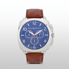 Beverly Hills Polo club Men's Heritage Tan Strap Watch
