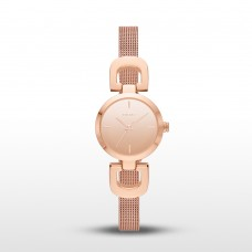 Rose Gold-Tone D-Link Mesh Bracelet Reade  DKNY Ladies'  Watch