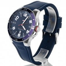 Tommy Hilfiger Sport Bezel and Silicon Strap Watch