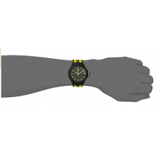 Ferrari Men's Pit Crew Black & Yellow Strap Watch
